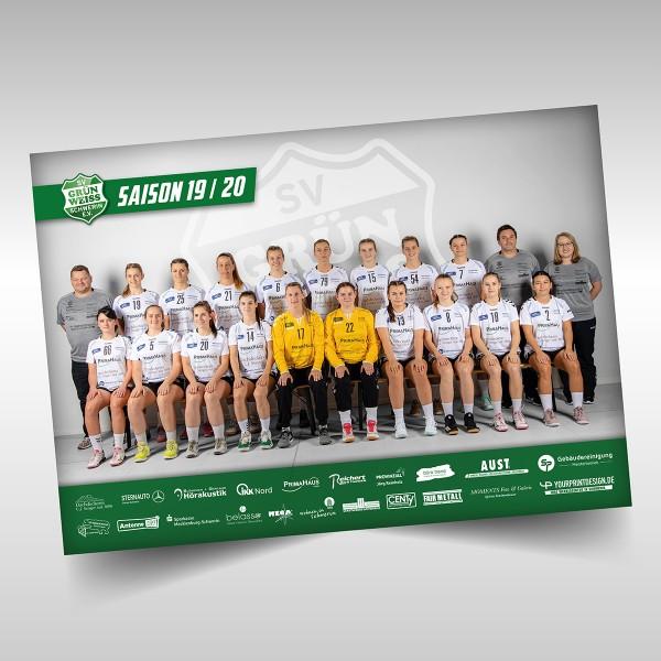 Poster Mannschaftsbild