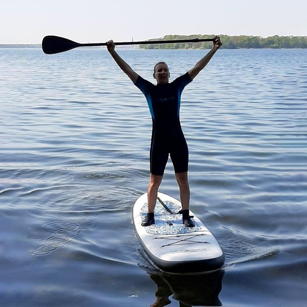 Stand-Up-Paddling Spaß